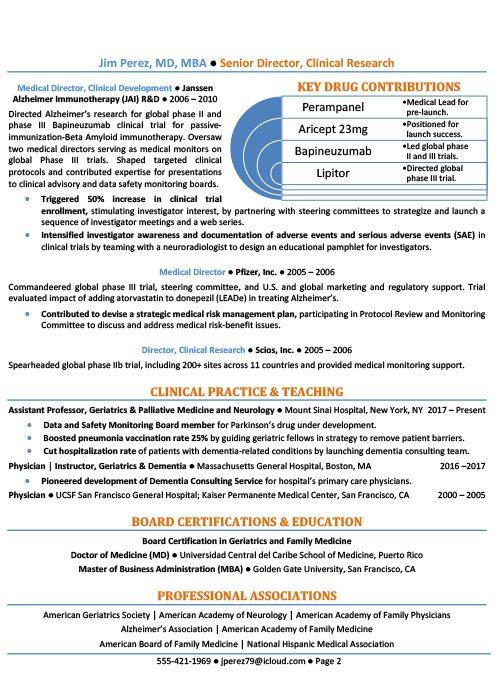 Healthcare Resume Sample 2