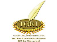 TORI Best Healthcare Medical Resume 2019