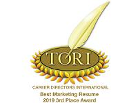 TORI Best Marketing Resume 2019