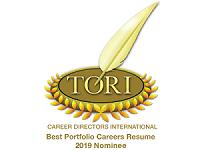 TORI Best Porfolio Resumes 2019