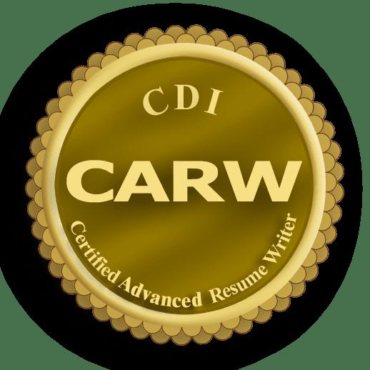 Certified Advanced Resume Writer